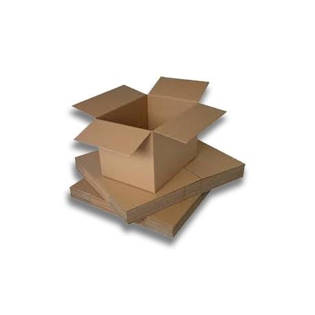 Caja Cartón, 300x300x300mm, 5piezas. (1ud)