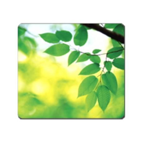 Alfombrilla ratón reciclada 'hojas'. (1ud)