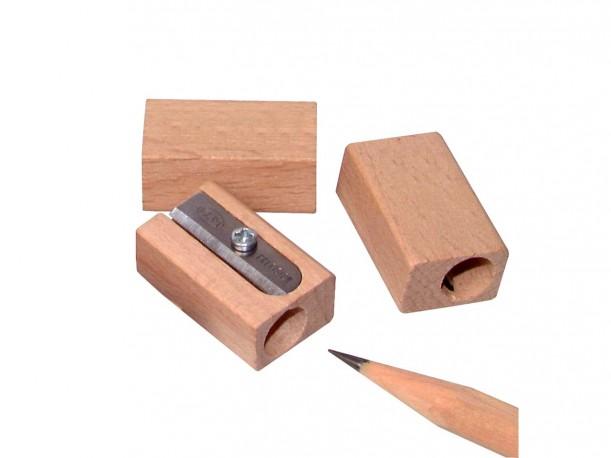 sacapuntas de madera de haya