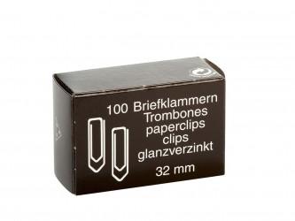 Clip clásico 32mm. 100ud.