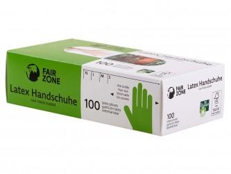 Guantes desechables de látex. 100ud (1ud)