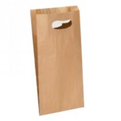 Bolsa papel asa troquelada 18x6x32cm.(250ud)