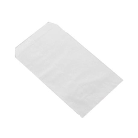 Sobres de papel blanco 21x12cm.