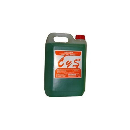 Limpiador suelos y baños. (5 litros)
